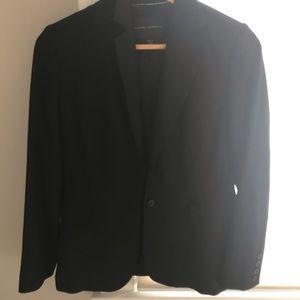 Banana republic stretch black blazer size 4